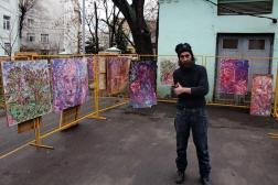 Dima at Church Courtyard